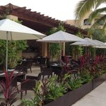 Hacienda Grill by one of the pools