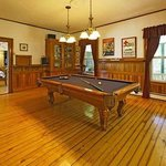 Enjoy a game of pool each evening.