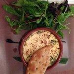 voorgerecht creme brulée met kaas