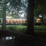 Essen im Park. Bloom. Juni 2014