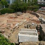 Altro scorcio degli scavi.