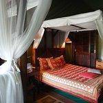 room in tent