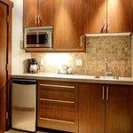 Kitchenette in Studio Suites