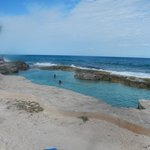 Another view of natural sea salt pool