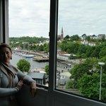 Foto tirada da partir da janela do quarto
