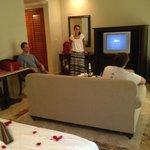 inside Deluxe Jr Suite (standard room)