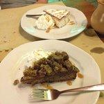 Torta pistacchio e nutella / torta ricotta e pere