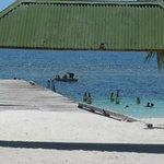 la plage de saona