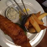 Traditional Fish and chip