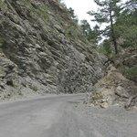 Road from Barcelonnette to Col de la Cayolle