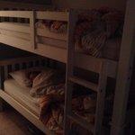 The kids loves the bunks!