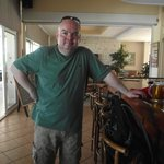 Yours truly at the bar..its been a busy day!