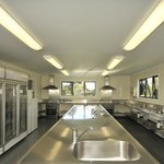 Modern Kitchen Facilities for campers
