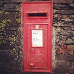 Post box in the wall