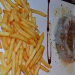 filetto con lardo al tartufo e patatine fritte