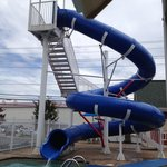 Outdoor waterslide
