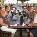 Dinner at Sands of Kahana
