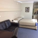 Comfortable :) A neat & Tidy room.!! Great value too.