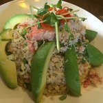 Crab& Avocado Fried rice