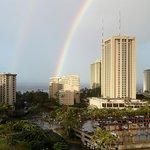 Double Rainbow from 12th floor one bedroom