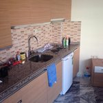 Brand new kitchen/living room. Great for couples/small family. June 2014