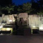 waterfall at FDR Memorial