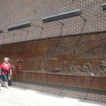Homenagem aos bombeiros - próximo ao Memorial