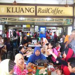 Kluang railway station cafe