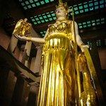 Giant statue of Athena
