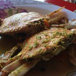 Lemak Cili crab for rm15 each.