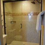 Room 215 bathroom shower