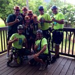 Thanks for an awesome first zipping experience Wes, Spencer, Ryan and matt