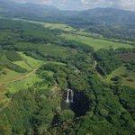 Waterfalls abound on Kaua'i