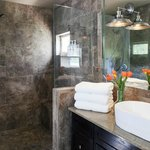 Over-sized shower in Bear Creek,
