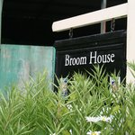 Broom House sign
