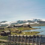 Hardangervidda mountain pass