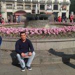 eu em Puerta do Sol