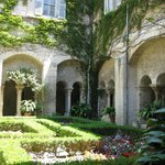One of the lovely gardens at St. Paul de Mausolee