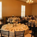 Lasker Inn Wedding Dining Room