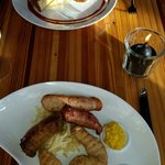 Sausage Feast and Stone Age Meatloaf,  THE most amazing Italian sausage I've Ever had! :-d. YUM!