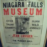 There are also many exhibits from the former Niagara Falls Museum