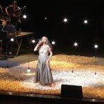 Show de Maria Bethânia no palco principal