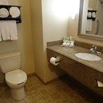 bathroom in room #115