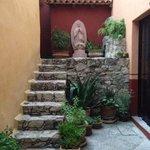 private alcove next to the capilla