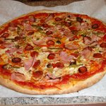 Il Supremo - Roasted vegetables with pepperoni and smoked ham