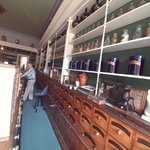Wonderful exhibit of a 1900's apothecary