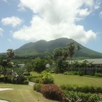 Nevis Peak without clouds.