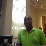 Me in the Colosseum store at Ceasars Palace