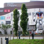 Gundam around the hotel