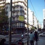 Rua de acesso ao hotel